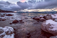 Lake Tahoe in the Snow by Stephanie